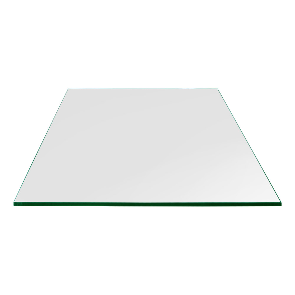 20 Inch Square Gl Table Top 1 4 Thick Flat Polished Eased Corners Tempered